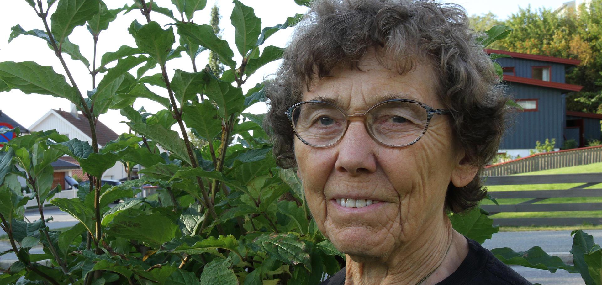 Lilly Antonsen har vært med i Framtiden i våre hender i 30 år.