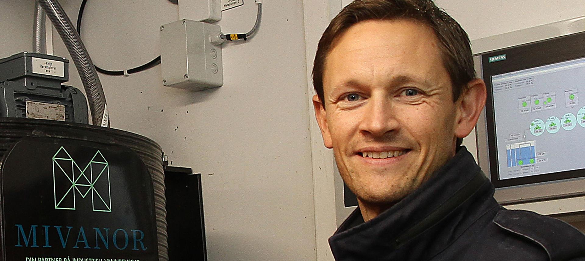 Daglig leder Fredrik Korpe