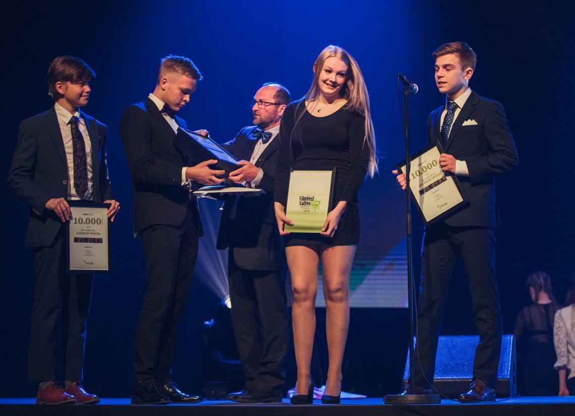 Årets prisvinnere på Filmfest Salten