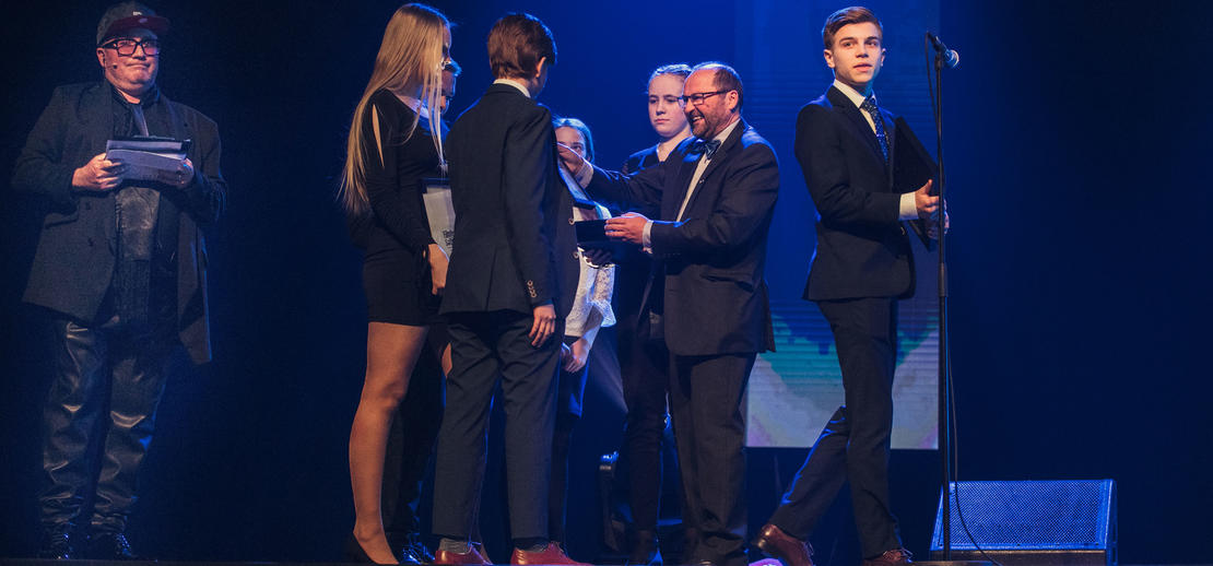 Rønvik skole vant pris for beste Miljøfilm.