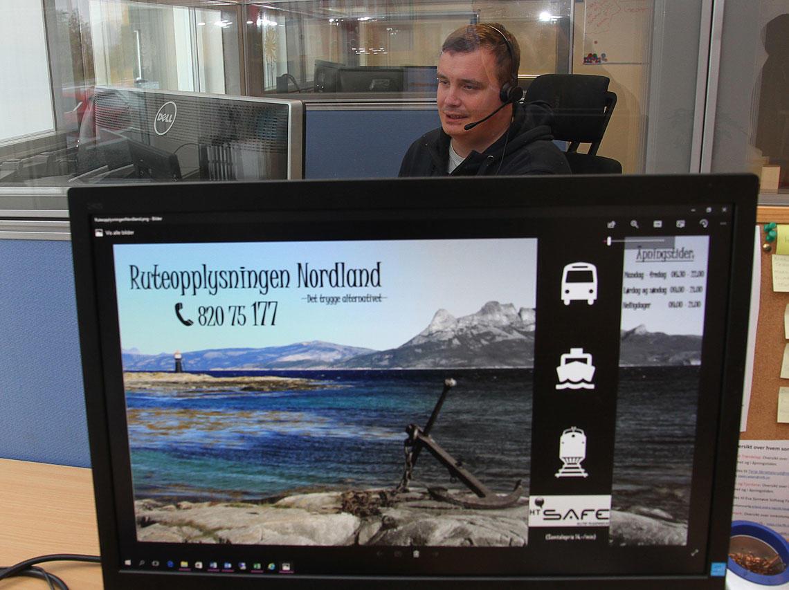 HT Safe svarer folk i Nordlan om ruteopplysning.