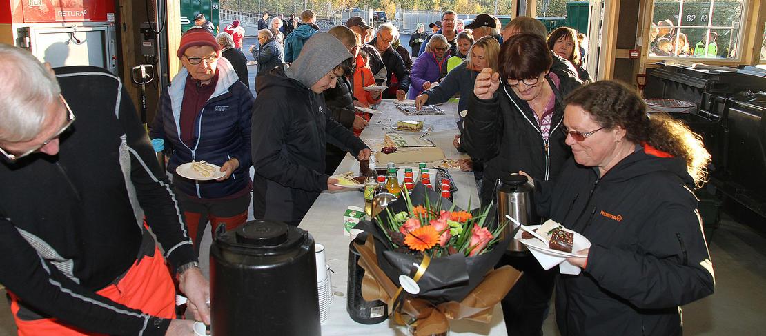 Åpning av Miljøtorget på Halsa.