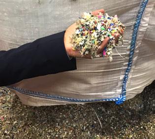 Plastflak fra husholdningsplast