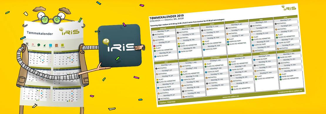 Ny tømmekalender