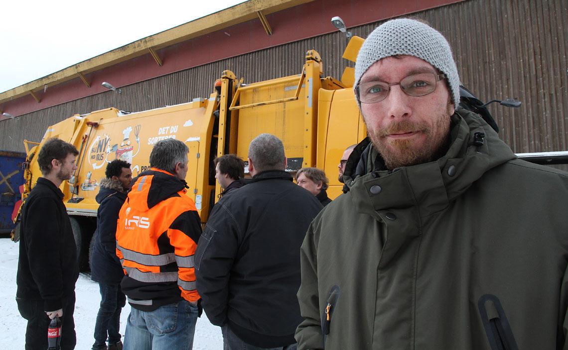Anders Rene Skov er nyansatt sjåfør i iris.