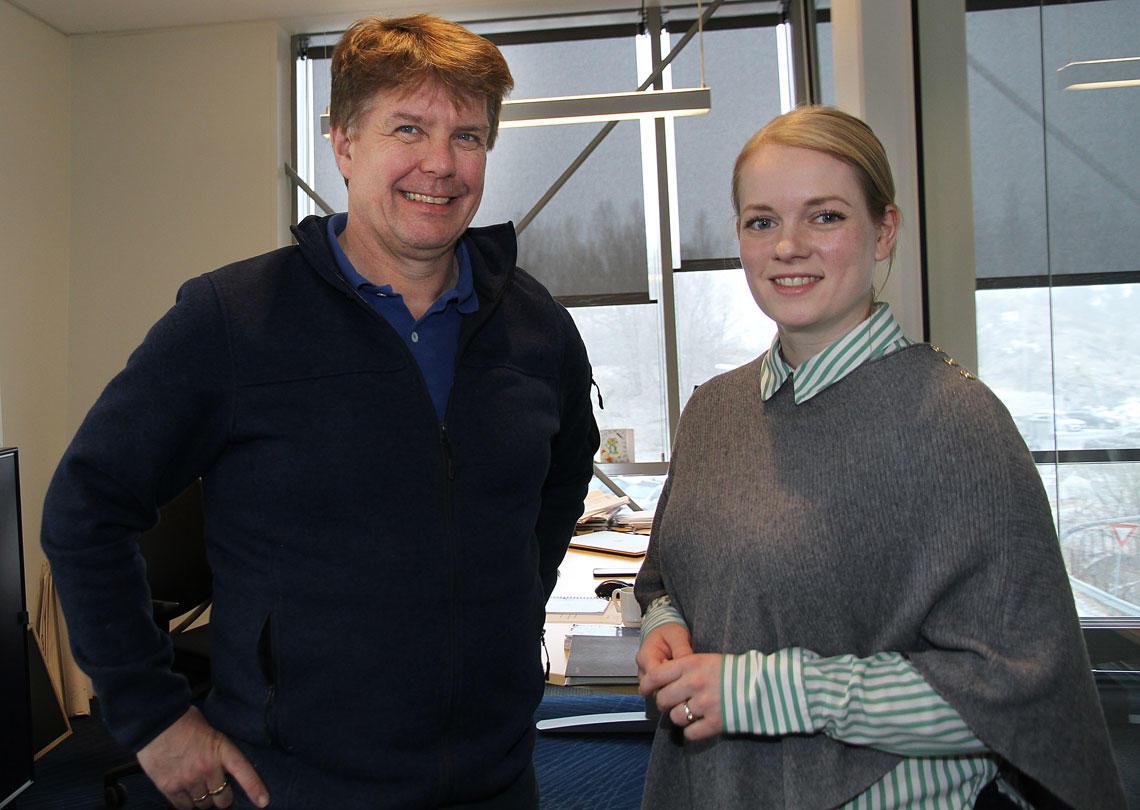 Leif Magne Hjelseng og Monica Novik Tennfjord