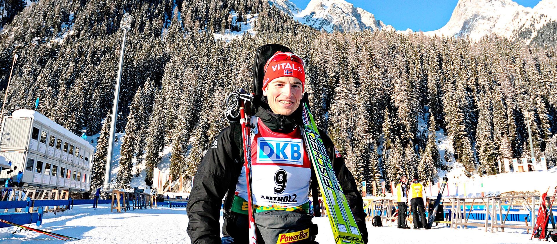 Skiskytter Aleksander Os