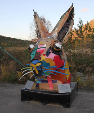 Skulptur Furulund