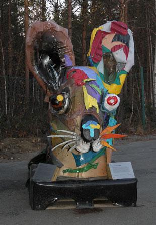 Skulptur Beiarn