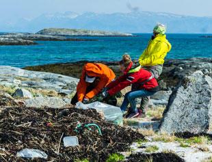 Rydder for marint avfall