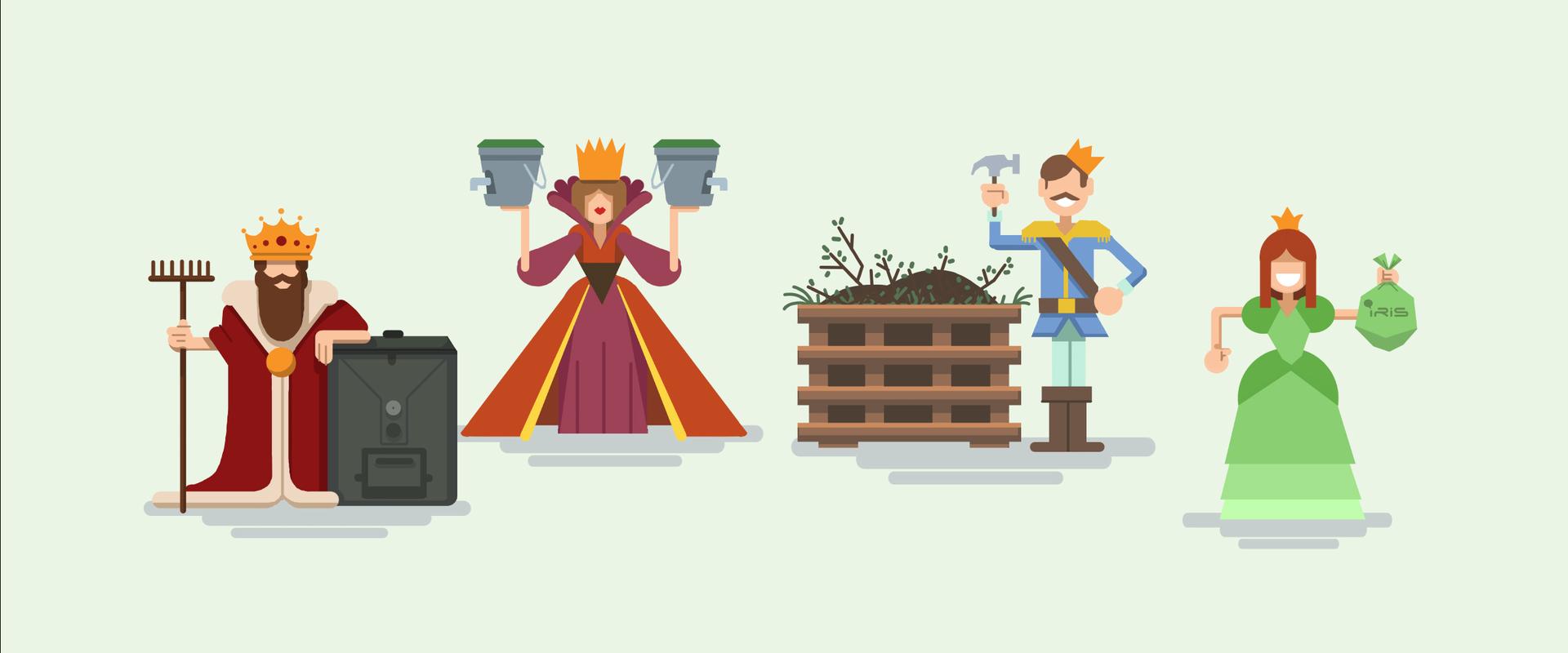 Konger og dronninger av kompost