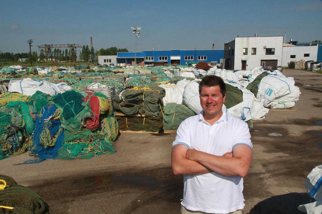 MILJØPRIS. Daglig leder Øistein Aleksandersen i Nofir kunne søndag motta Venstres miljøpris for 2016 for innsatsen for et bedre klima.