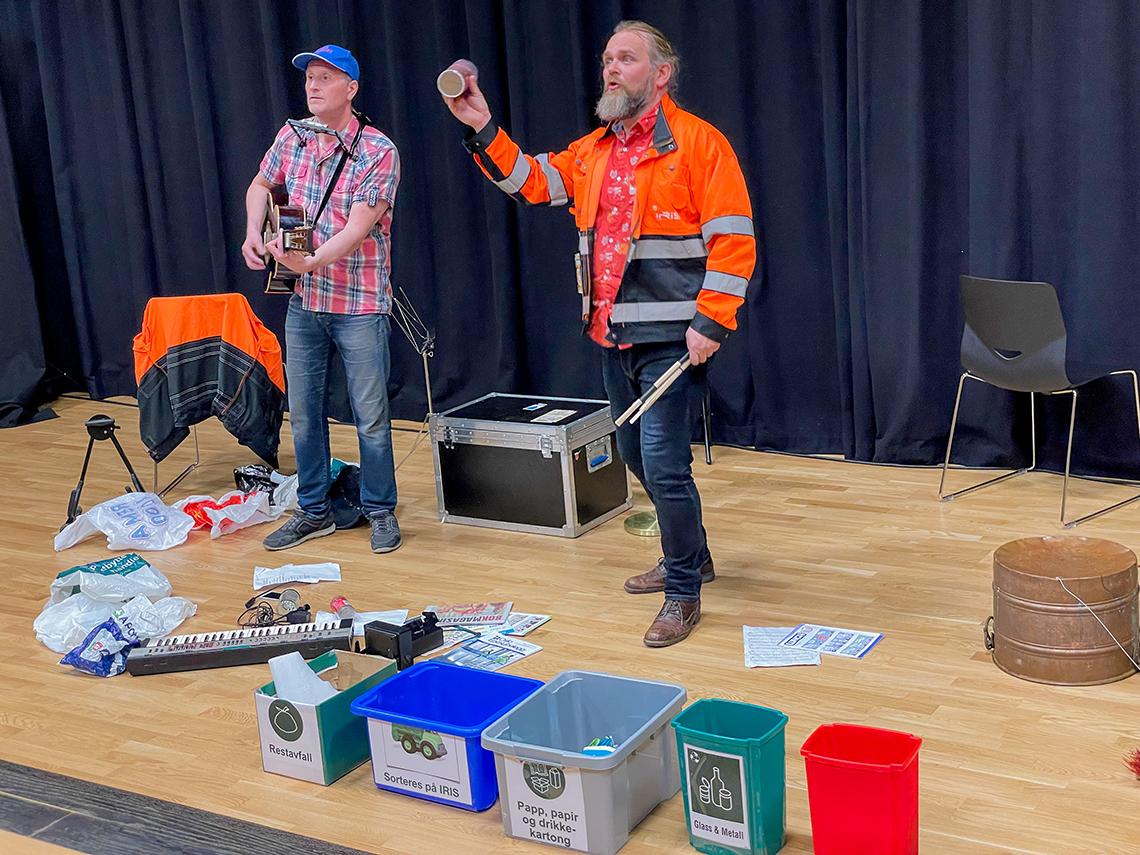 Kalle og Tralle spilles av Ole-Anders og John Kristian