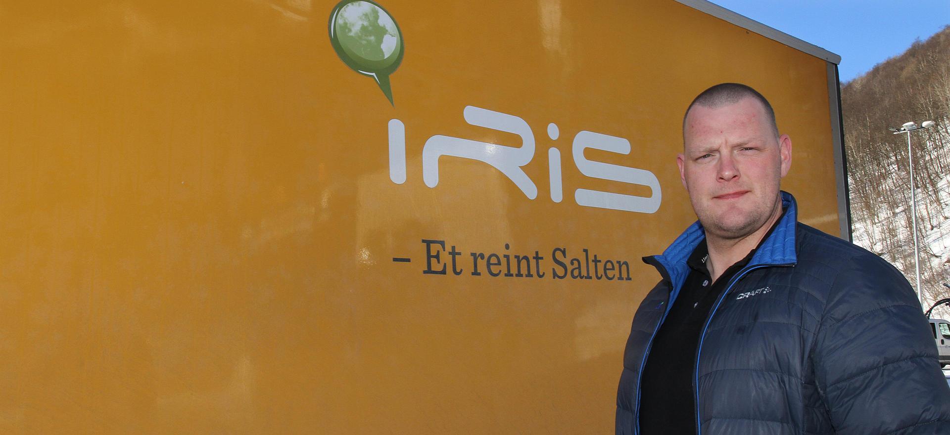 Mathis Larsen blir ny daglig leder i iris Service.