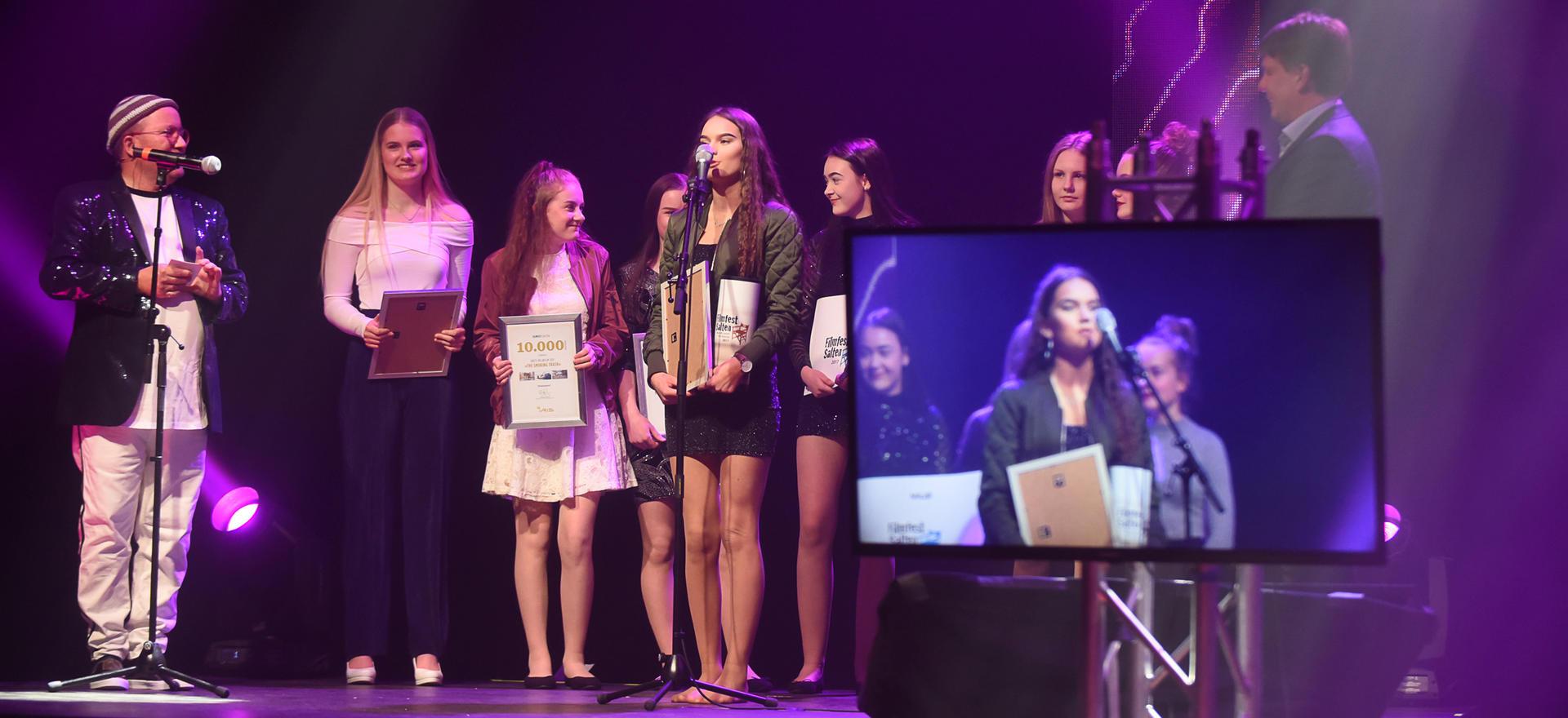 The Smoking Trash var navnet på filmen som vant Miljøprisen under Filmfest Salten.